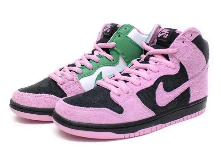 Nike SB Dunk High Invert Celtics ナイキ SB ダンク ハイ インバートセルティックス main