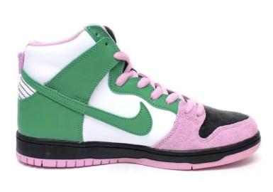 Nike SB Dunk High Invert Celtics ナイキ SB ダンク ハイ インバートセルティックス right side