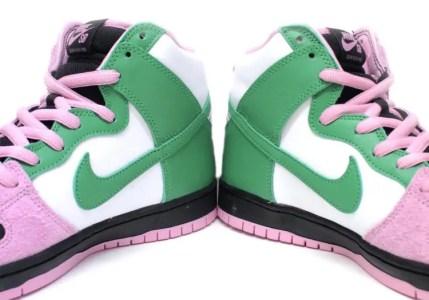 Nike SB Dunk High Invert Celtics ナイキ SB ダンク ハイ インバートセルティックス pair