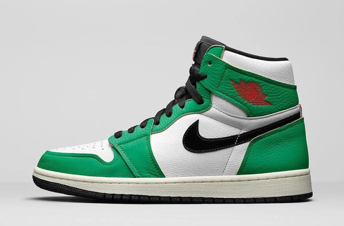 Nike News Womens Air Jordan 1 High OG Lucky Green DB4612-300 ナイキ エア ジョーダン 1 ハイ ウィメンズ ラッキー グリーン