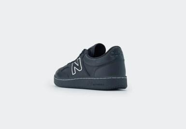 COMME des GARÇONS HOMME x New Balance PRO COURT CUP black heel