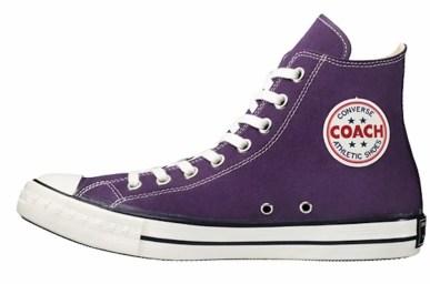 CONVERSE ADDICT COACH CANVAS HI コンバース アディクト コーチ キャンバス ハイ purple