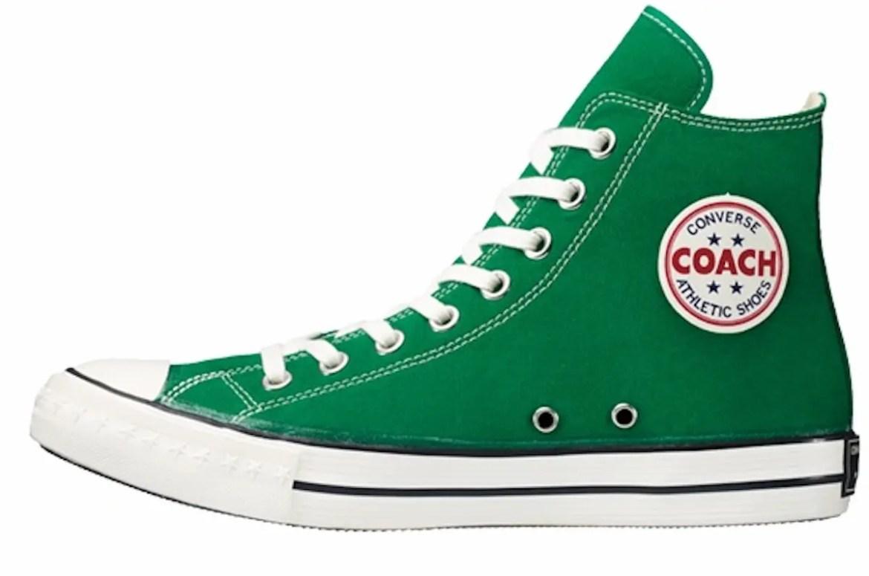 CONVERSE ADDICT COACH CANVAS HI コンバース アディクト コーチ キャンバス ハイ green