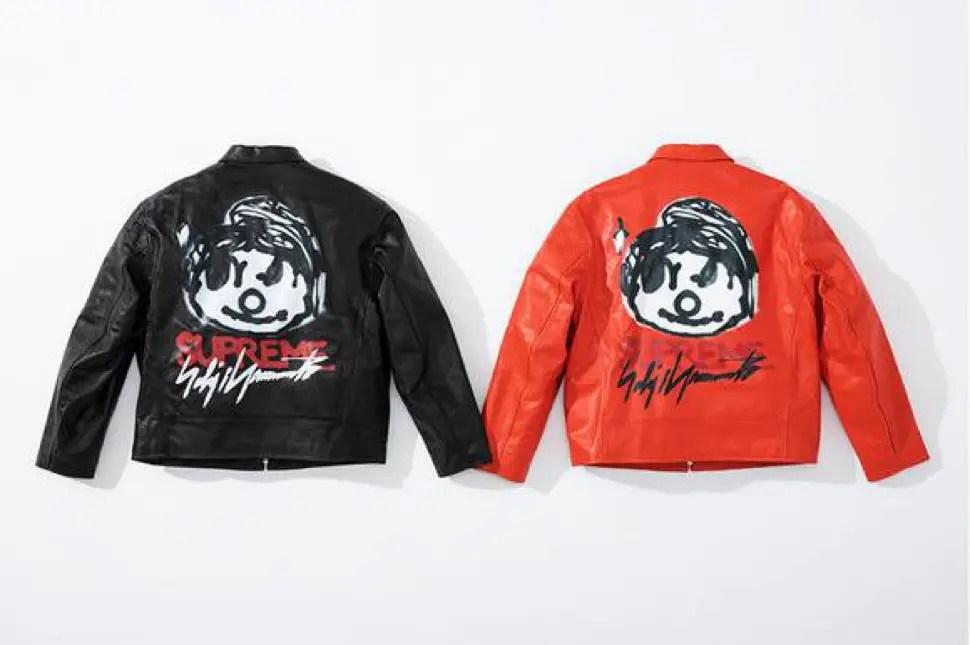 supreme 2020fw week4 シュプリーム 秋冬コレクション Leather Work Jacket main back