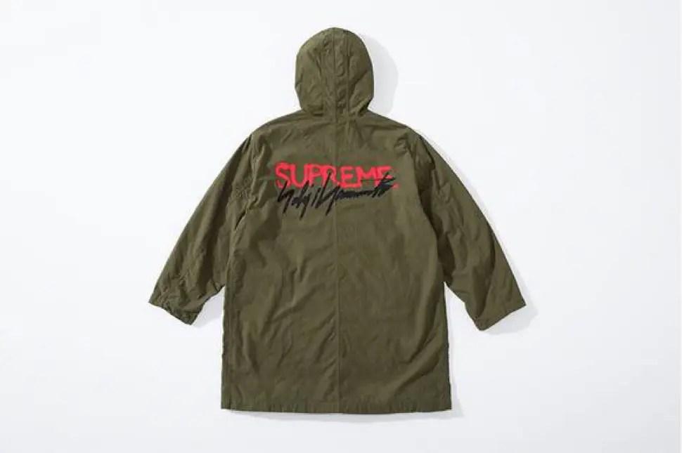 supreme 2020fw week4 シュプリーム 秋冬コレクション Parka green back