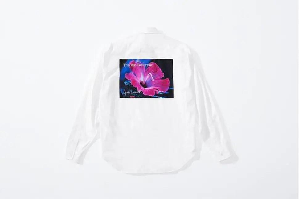 supreme 2020fw week4 シュプリーム 秋冬コレクション shirt white back
