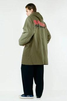 supreme 2020fw week4 シュプリーム 秋冬コレクション wearing back green