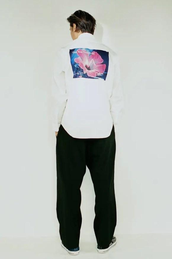 supreme 2020fw week4 シュプリーム 秋冬コレクション wearing white shirt back