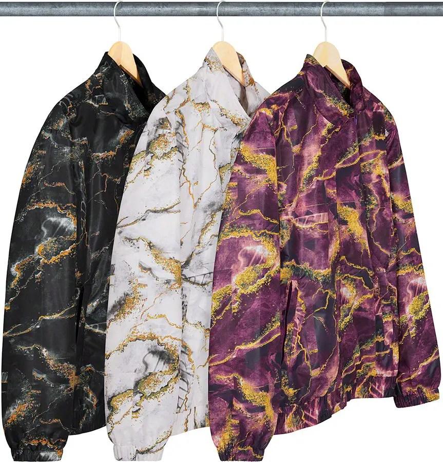 supreme nike collaboration apparel 2020fw 20200905 week2 シュプリーム ナイキ 2020秋冬 Marble Track Jacket all