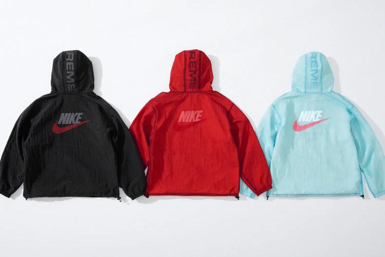 supreme nike collaboration apparel 2020fw 20200905 week2 シュプリーム ナイキ 2020秋冬 anorack collect main back