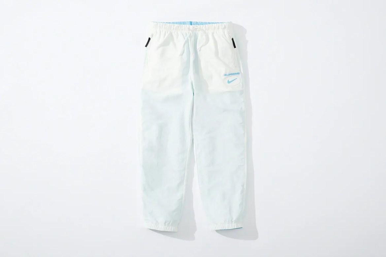 supreme nike collaboration apparel 2020fw 20200905 week2 シュプリーム ナイキ 2020秋冬 Reversible Ripstop Pant blue reverse