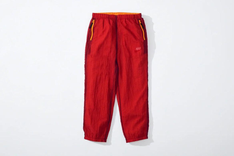 supreme nike collaboration apparel 2020fw 20200905 week2 シュプリーム ナイキ 2020秋冬 Reversible Ripstop Pant red