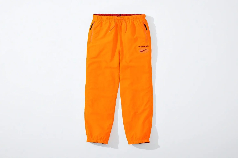 supreme nike collaboration apparel 2020fw 20200905 week2 シュプリーム ナイキ 2020秋冬 Reversible Ripstop Pant red reverse