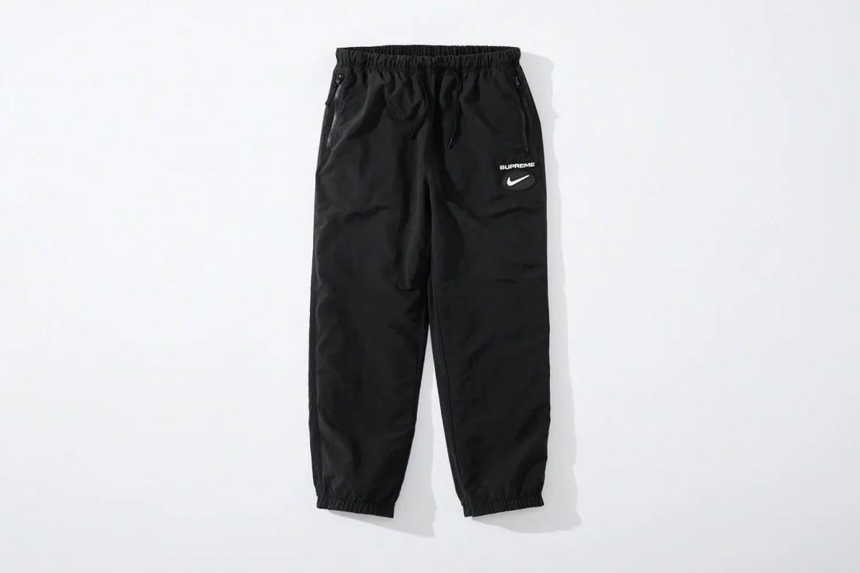 supreme nike collaboration apparel 2020fw 20200905 week2 シュプリーム ナイキ 2020秋冬 Reversible Ripstop Pant black reverse