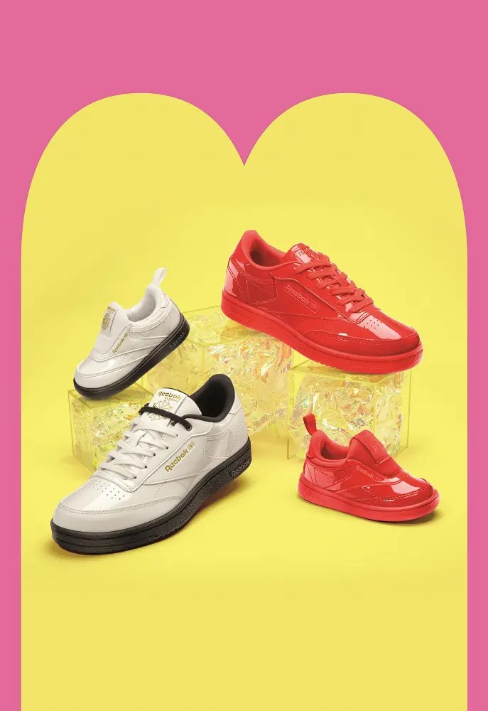 Reebok CLASSIC x Cardi B カーディ・B クラブ シー Cardi B Club C Shoes コラボ image red collab