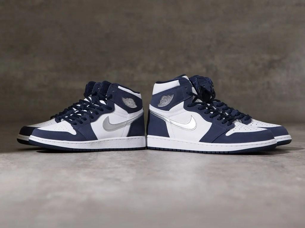 ナイキ エア ジョーダン 1 ジャパン 日本企画 ミッドナイト ネイビー Nike Air Jordan 1 CO.JP Midnight Navy 575441-141 BAIT mens gs