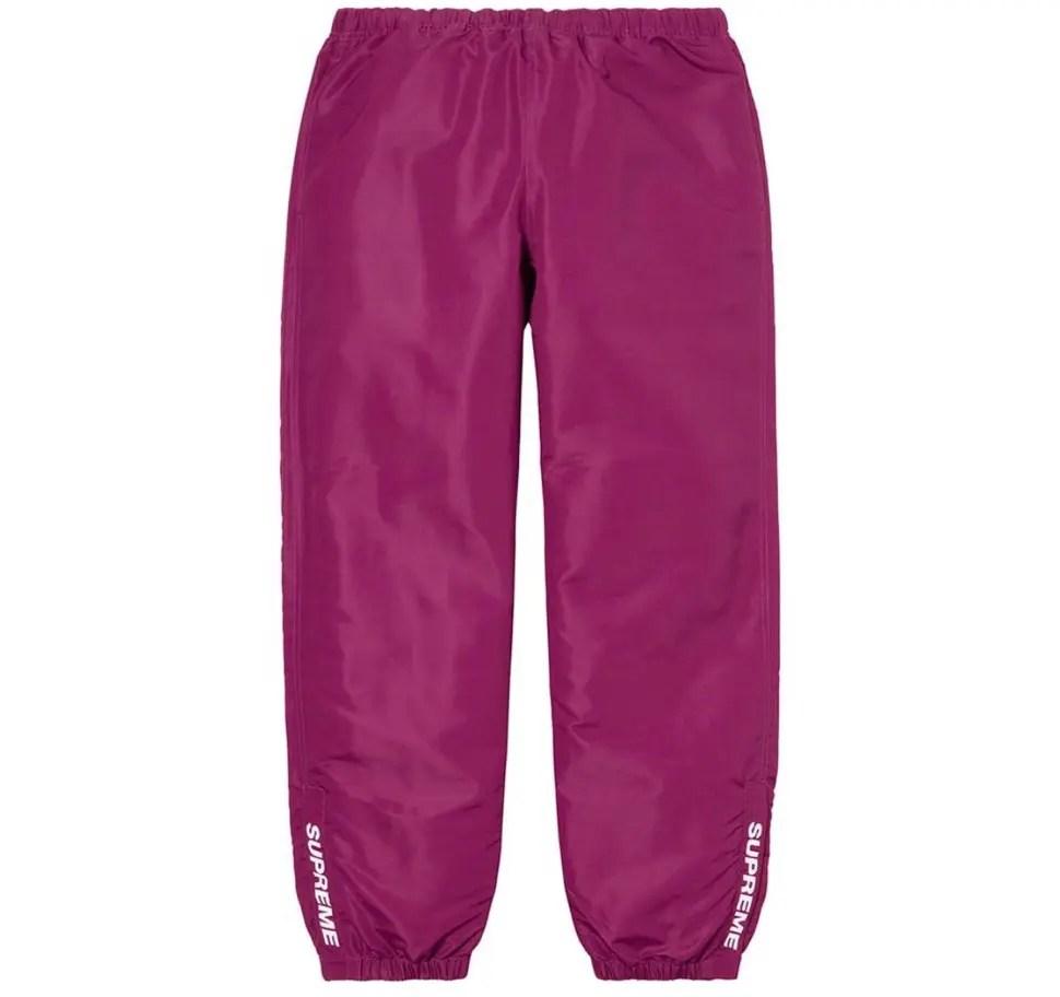 Supreme 2020fw week9 Warm Up Pant シュプリーム 2020年 秋冬 ワーム アップ パンツ purple