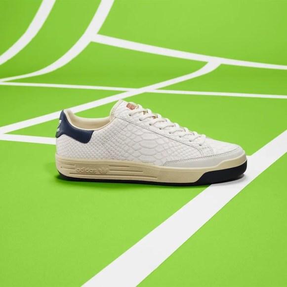 adidas Consortium Rod Laver Leather Pack 4 colors アディダス コンソーシアム ロッド レイバー レザー パック lizard side