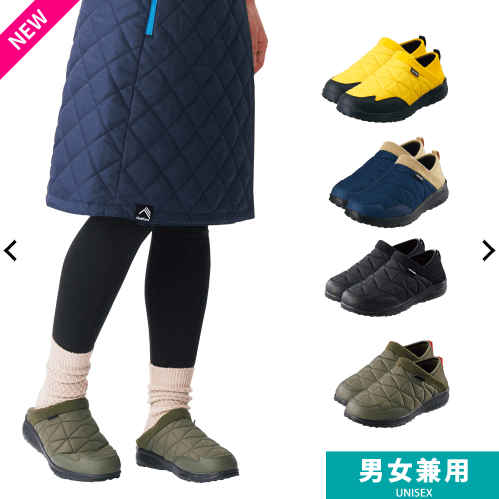 WORKMAN 防寒トレッドモック snowday-ladies-sneaker-style-workman-winter-shoes
