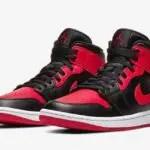 ナイキ エア ジョーダン 1 ミッド ブレッド Nike Air Jordan 1 Mid Bred 554724-074 GS レディース キッズ official main