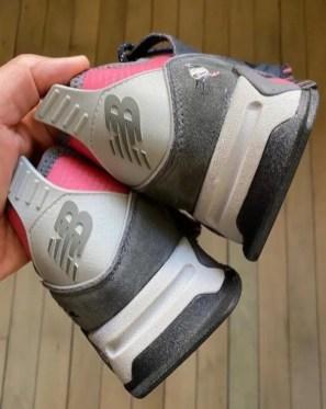アトモス x ステープル x ニューバランス エックスレーサー atmos-Staple-New-Balance-X-Racer-heel-logo