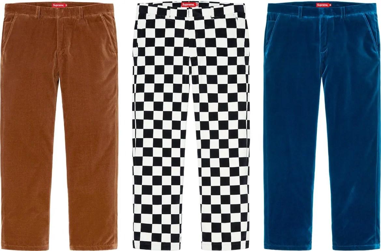 supreme-20aw-20fw-velvet-trouser-2シュプリーム week12