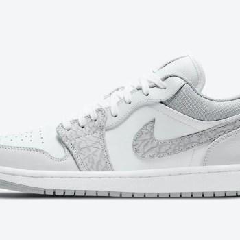 Nike-Air-Jordan-1-Low-PRM-Elephant-Print-DH4269-100-Release-Date