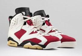 """ナイキ エア ジョーダン 6 """"カーマイン""""-Nike-2021-Air-Jordan-6-Carmine-CT8529-106-pair"""