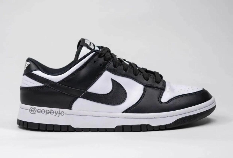 """ナイキ ウィメンズ ダンク ロー """"ホワイト/ ブラック"""" Nike-Dunk-Low-White-Black-DD1391-100-side"""