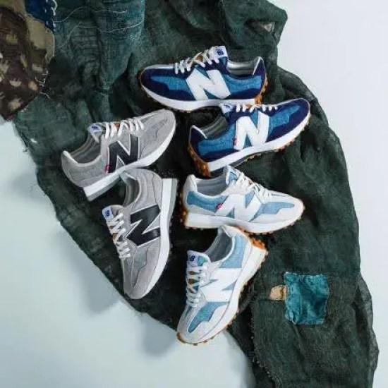 Levi's コラボ snkrgirl_best_sneakers_2020_top10-levis-new-balance-327