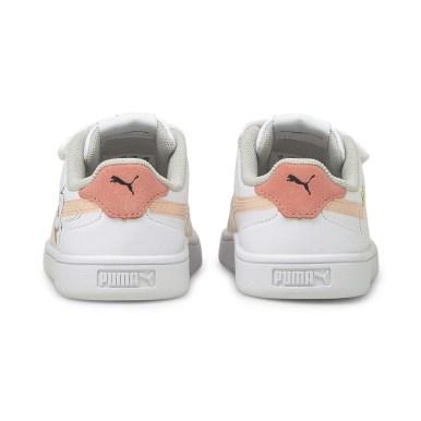 Peanuts x Puma Baby Puma Shuffle ピーナッツ x プーマ ベビー プーマ シャッフル 色:White-Apricot-SCoral-Black