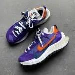 Sacai Nike VaporWaffle Dark Iris Campfire Orange サカイ ナイキ コラボ ヴェイパー ワッフル パープル オレンジ detail
