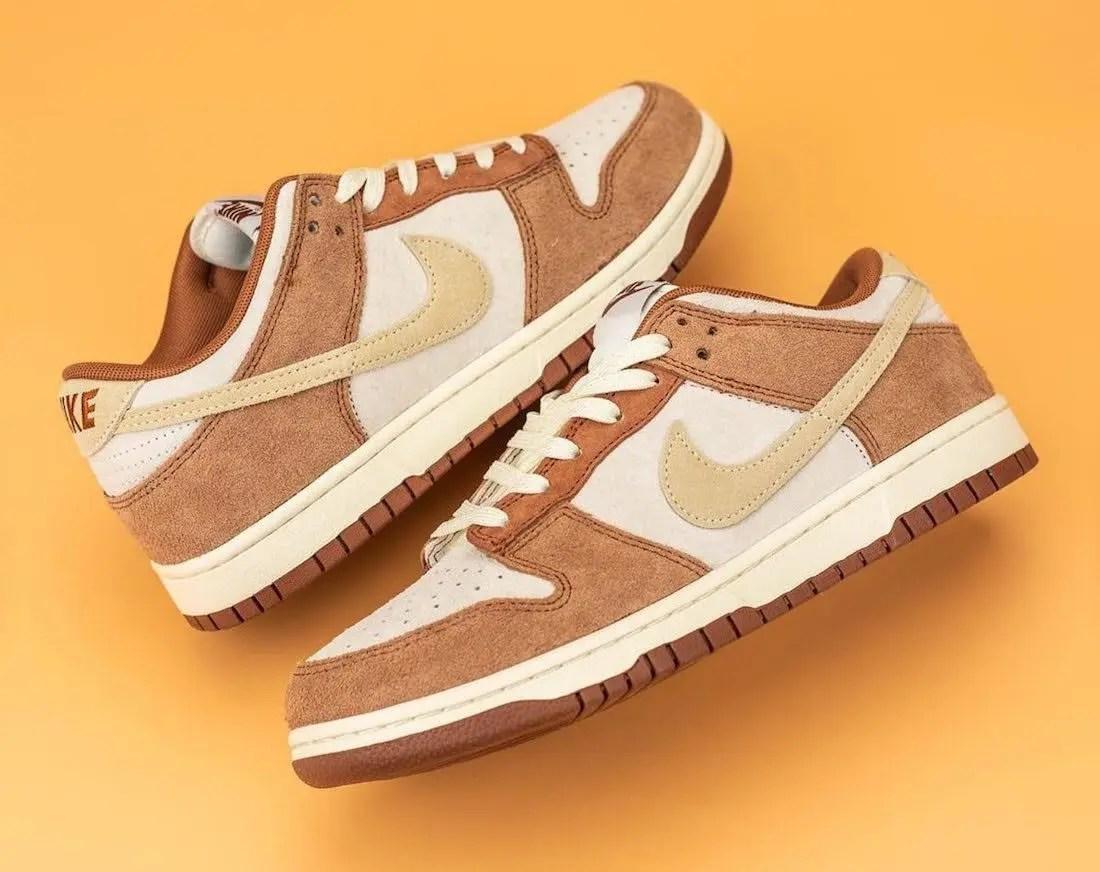 """ナイキ ダンク ロー プレミアム """"ミディアム カリー"""" Nike-Dunk-Low-Medium-Curry-DD1390-100-pair3"""