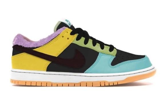 """ナイキ ダンク ロー SE """"フリーナインティナイン"""" Nike-Dunk-Low-SE-Free-99-DH0952-001-side"""