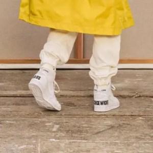 """アンダーカバー × ナイキ ダンク ハイ """"カオス"""" undercover-nike-dunk-high-2021-chaos-main wearing"""