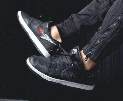 ウエステッド ユース × ナイキ SB ダンク ロー Wasted-Youth-Nike-SB-Dunk-Low-DD8386-001-pair-on-foot-5