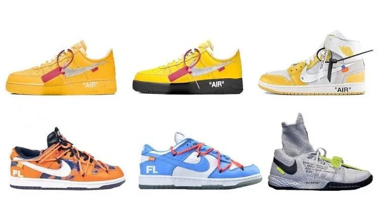 """off-white x nike """"the 20"""" collection"""