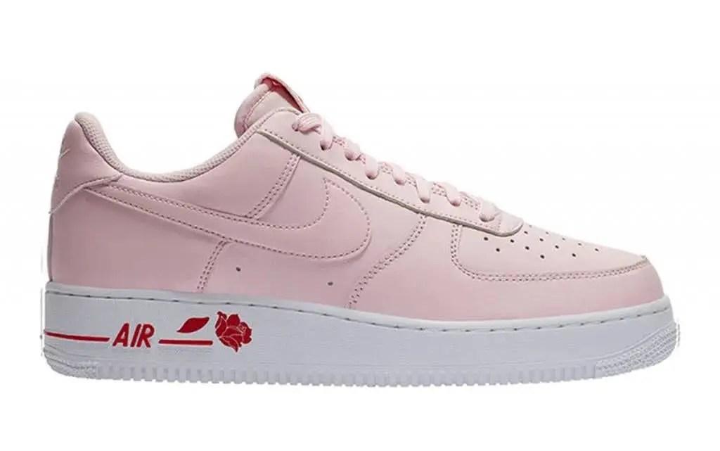"""ナイキ エア フォース 1 ロー """"ローズ"""" nike-air-force-1-low-rose-pink-foam-white-cu6312-600-pink-foam-side"""