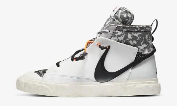 レディメイド × ナイキ ブレーザー ミッド/ ヴァストグレー READYMADE-Nike-Blazer-Mid-Vast-Grey-CZ3589-100 detail main official