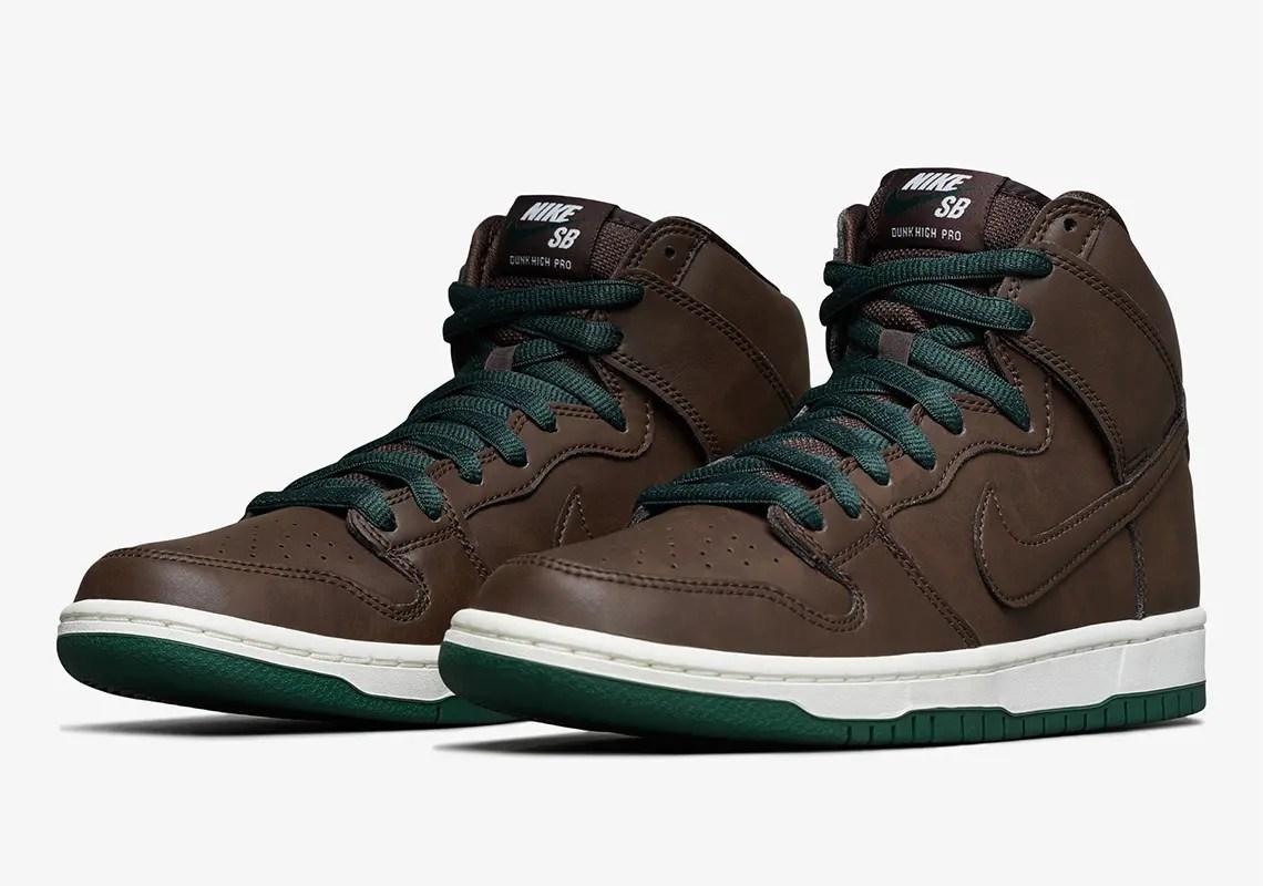 ナイキ SB ダンク ハイ バロック ブラウン nike-sb-dunk-high-baroque-brown-green-CV1624-200