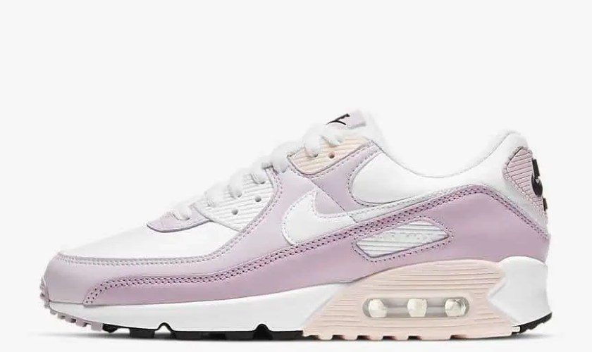 """ナイキ ウィメンズ エア マックス 90 """"ライトバイオレット"""" Nike-WMNS-Air-Max-90-Light-Violet-CV8819-100-side"""
