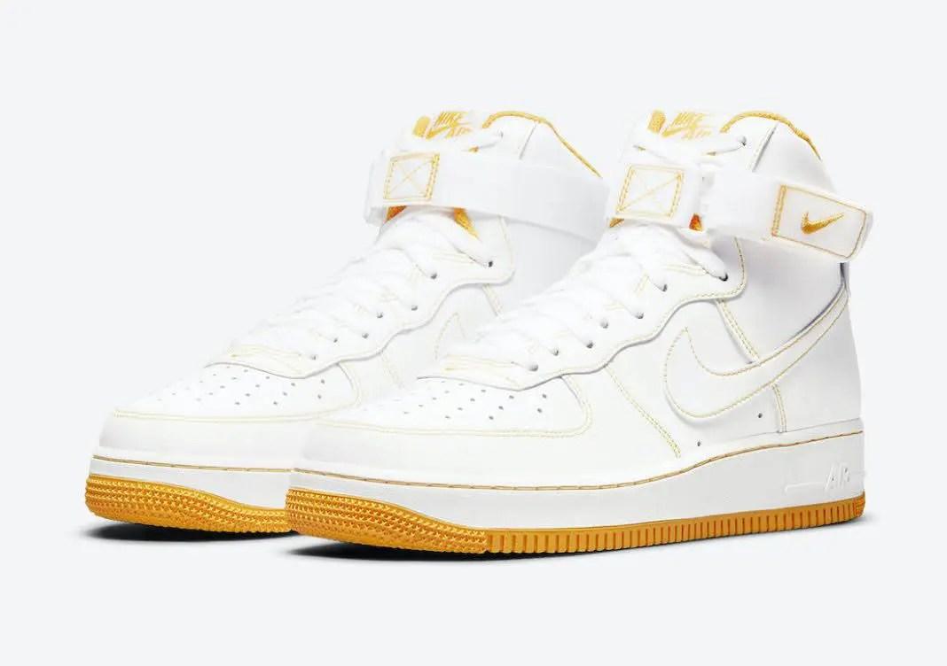 """ナイキ ウィメンズ エア フォース 1 ハイ """"レーサー オレンジ"""" Nike-Air-Force-1-High-Laser-Orange-CV1753-107-pair"""