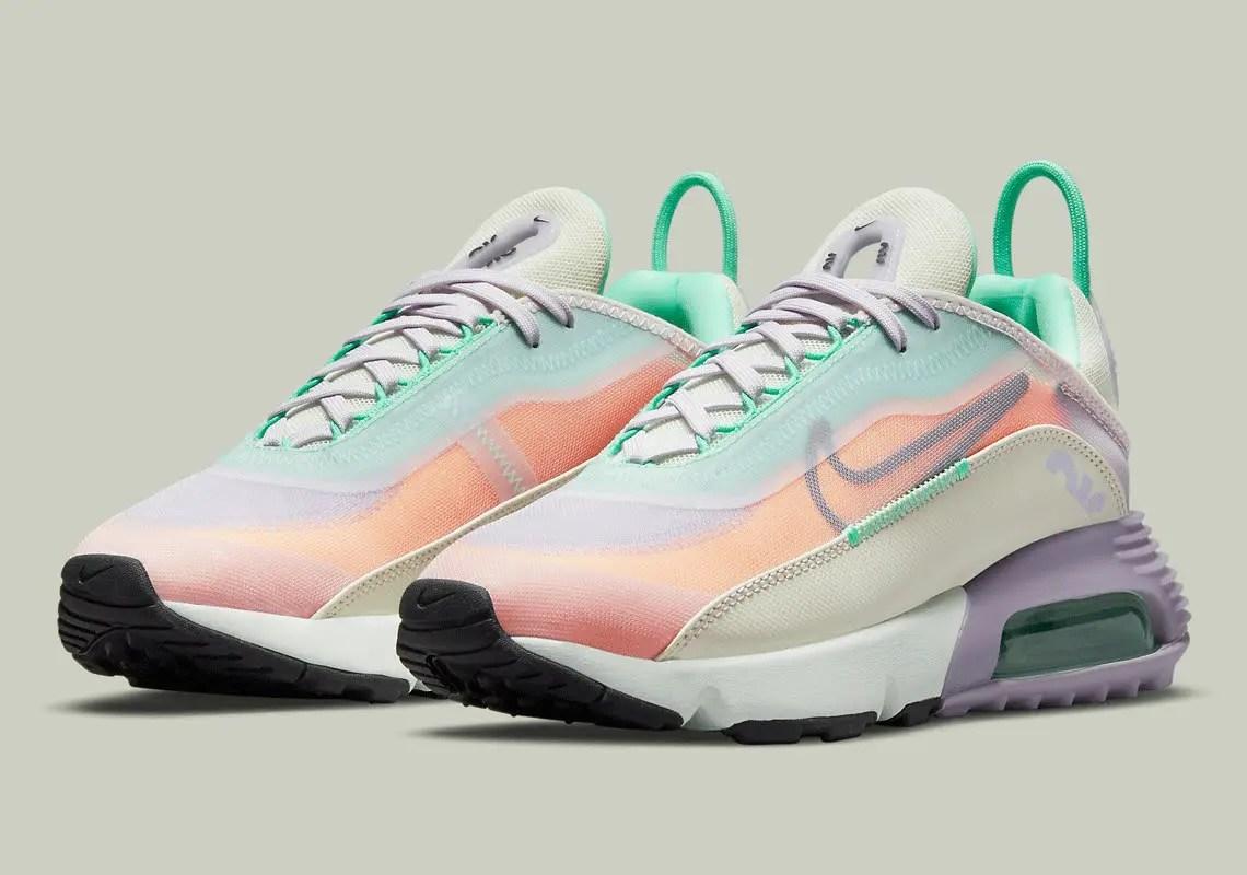 """ナイキ エア マックス 2090 """"イースター"""" Nike-Air-Max-2090-Easter-CZ1516-500-pair"""