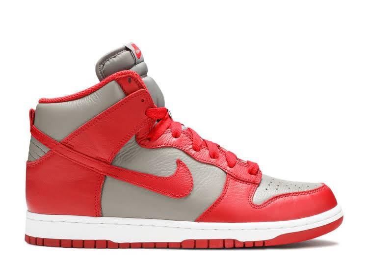 灰×赤=ネバダ大学ラスベガス校、オハイオ大学 Nike-Dunk-UNLV-about-nike-dunk
