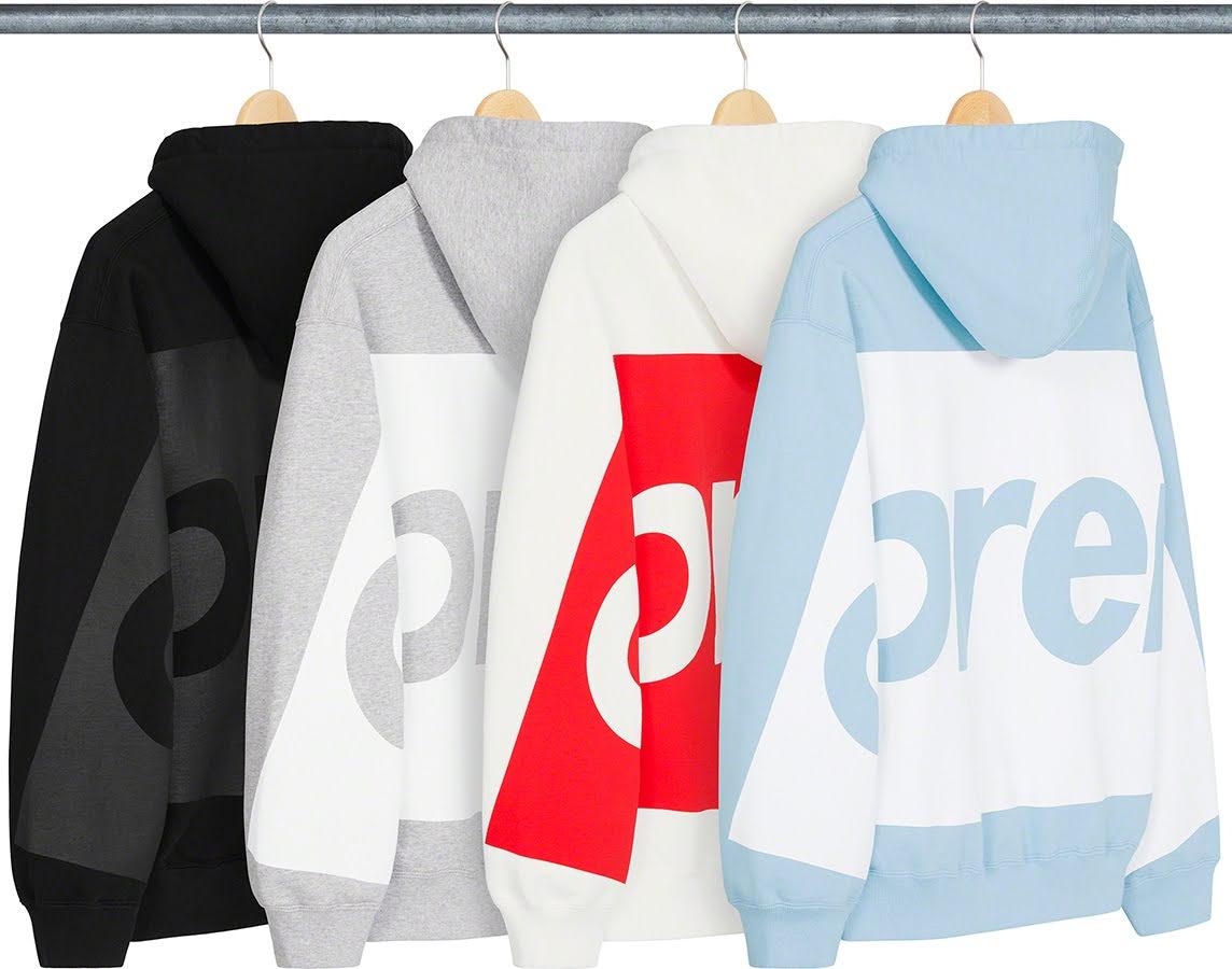 シュプリーム 2021年 春夏 新作 スウェットシャツ Supreme-2021SS-sweatshirts-big-logo-hooded-sweatshirt-4-colors