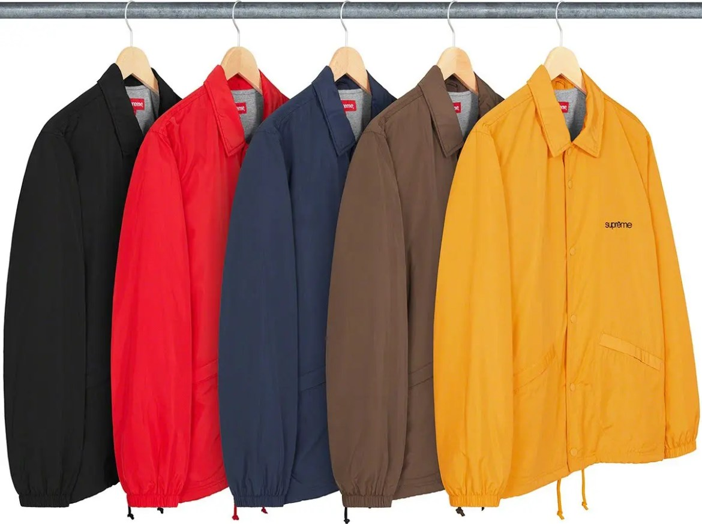 シュプリーム 2021年 春夏 新作 ジャケット Supreme 2021ss jacket 一覧 five-boroughs-coaches-jacket