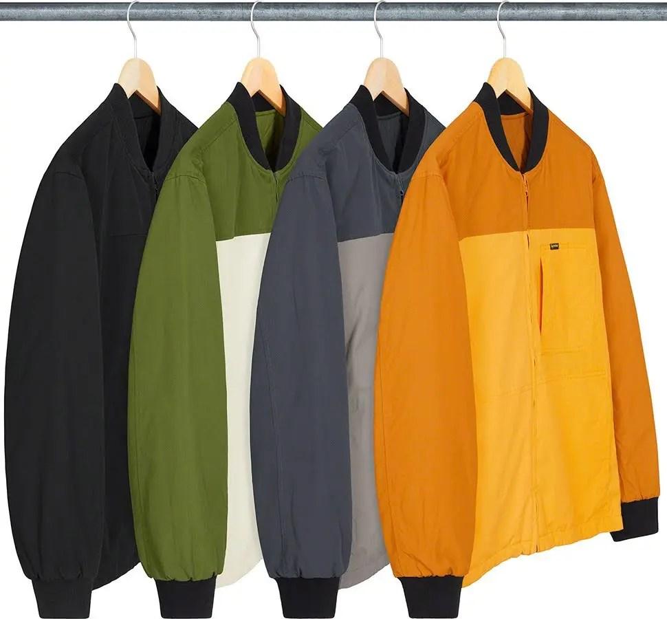 シュプリーム 2021年 春夏 新作 ジャケット Supreme 2021ss jacket 一覧 reversible-tech-work-jacket-in