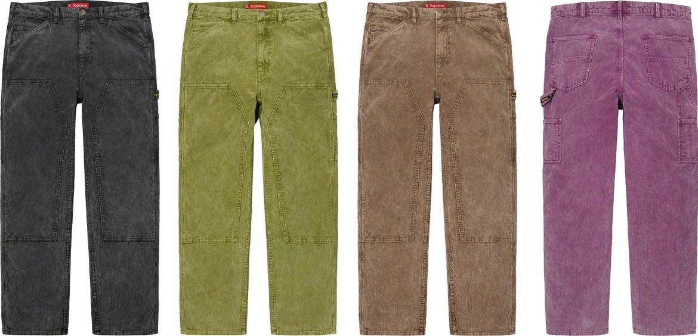シュプリーム 2021年 春夏 新作 パンツ ショーツ Supreme 2021ss pants shorts 一覧 Double Knee Corduroy Painter Pant