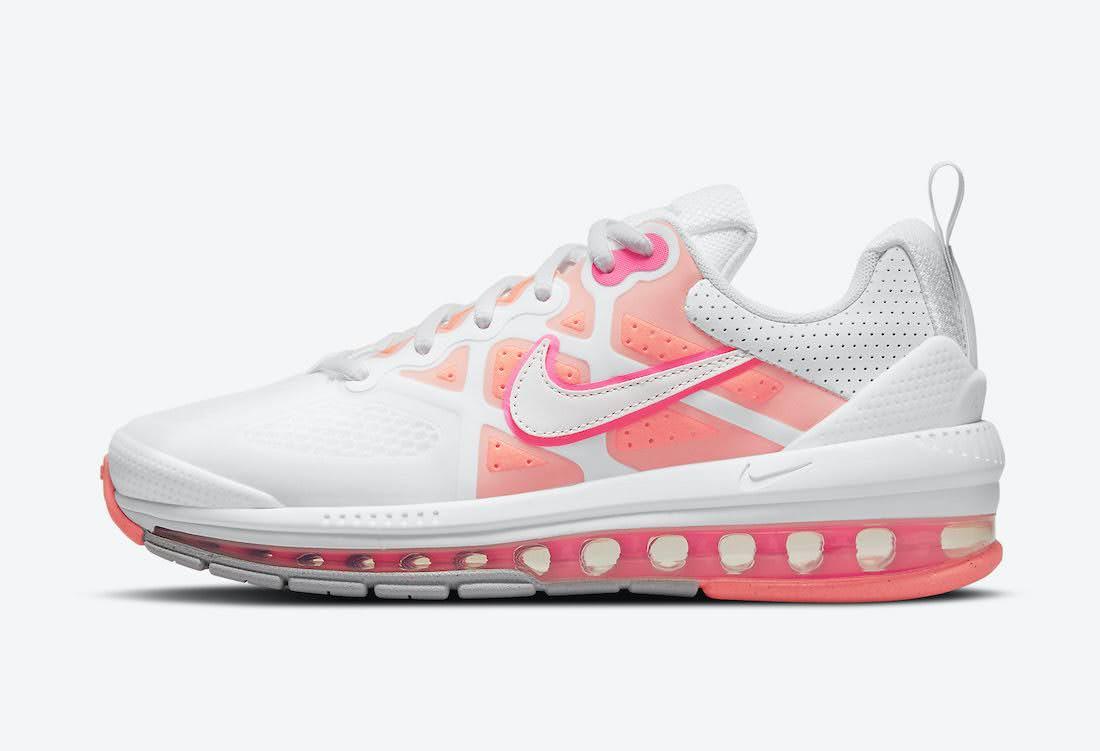 """ナイキ ウィメンズ エア マックス ゲノム """"バブル ガム"""" Nike-Air-Max-Genome-CZ1645-101-side"""