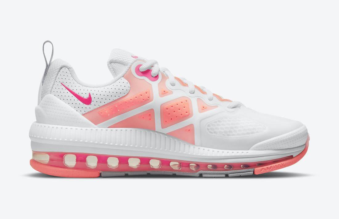"""ナイキ ウィメンズ エア マックス ゲノム """"バブル ガム"""" Nike-Air-Max-Genome-CZ1645-101-side-2"""